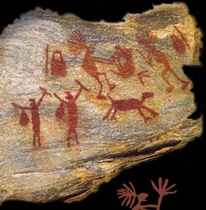 Arte rupestre ana moura for Pintura sobre piedras